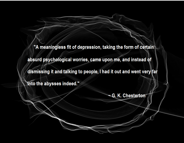 Depression Chesterton