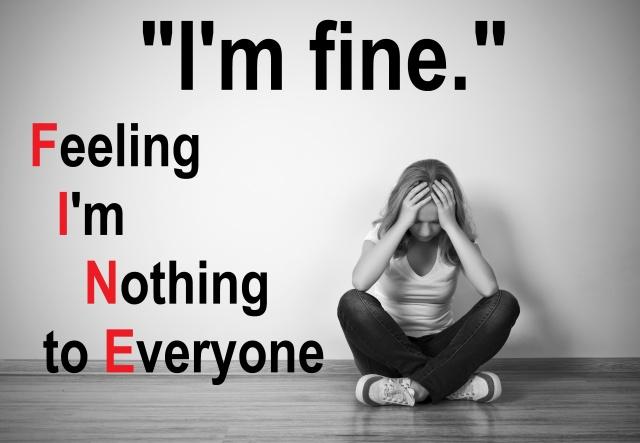 Depression 'I'm Fine'