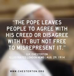 Pope - Chesterton