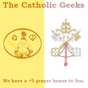 Catholic Geeks Vatican flag full