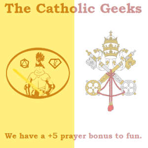 Catholic Geeks Vatican flag full