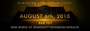 WoW Announcement Banner