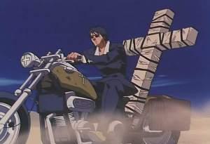 Nicholas Wolfwood Cross Anime
