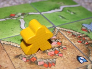 Carcassonne meeple board games
