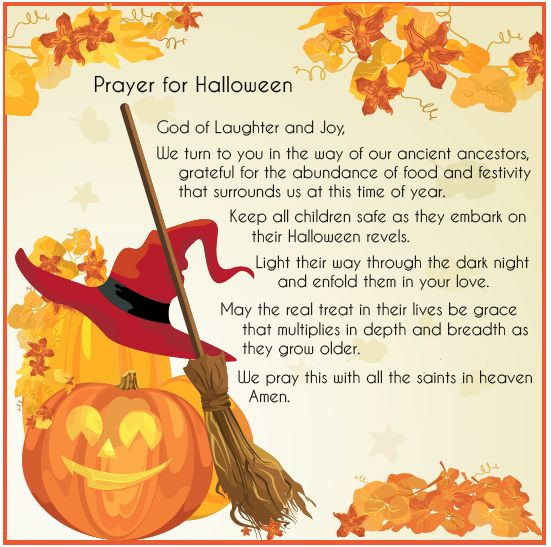 Halloween prayer