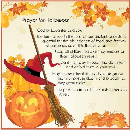 Halloween prayer