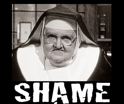 Mother Angelica Shame