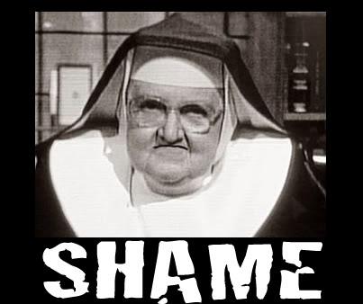 Mother Angelica Shame