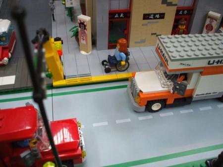 Lego wheelchair MOC