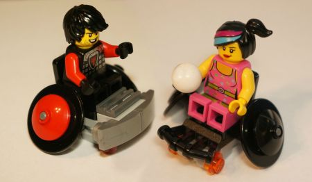 Lego wheelchair sports