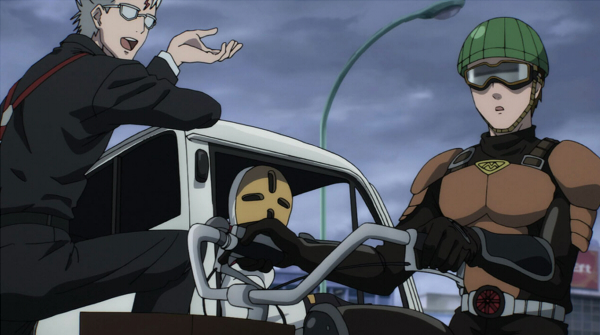 Mumen Rider Anime