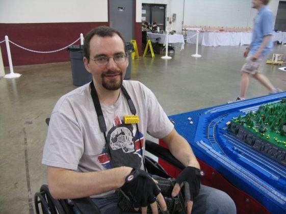 Wheelchair and BrickFair