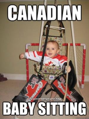 Canaday hockey babysitting