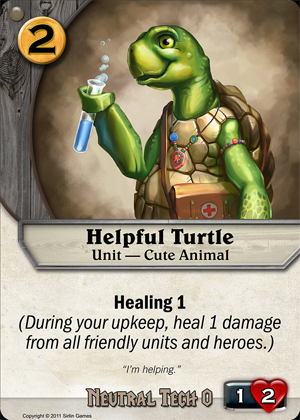 Helpful Turtle Codex Card Game