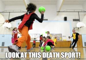Dodgeball death sport
