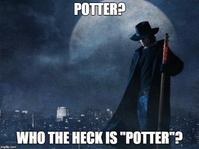 Dresden Files Potter