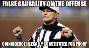 false-causality