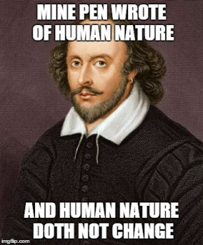 Shakespeare human nature
