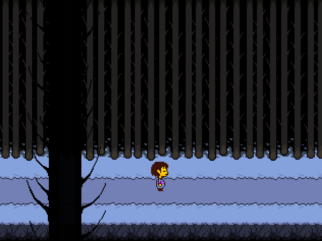 Undertale Snowdin Forest