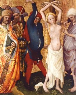 St. Agatha's Martyrdom