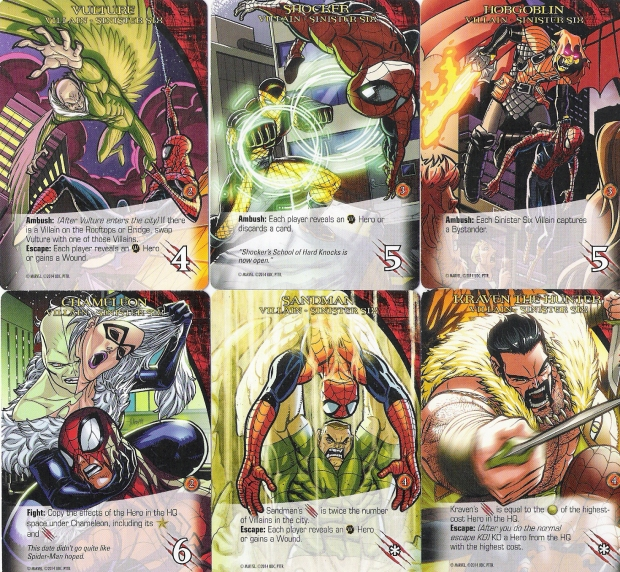 Legendary Sinister Six