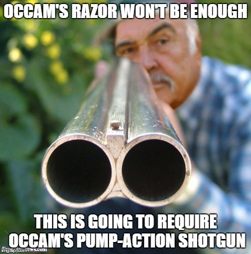 Occam's Shotgun