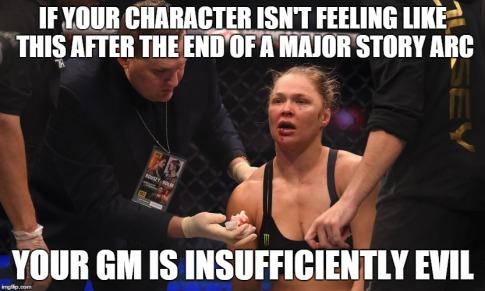 RPG major story arc