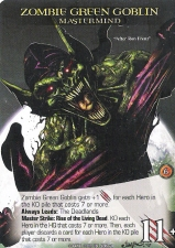 Legendary Zombie Green Goblin