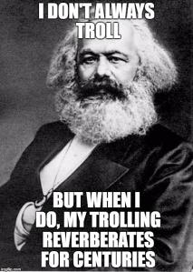 Marx troll