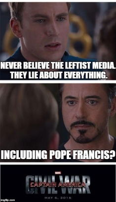 Media Bias Pope