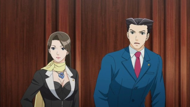 Phoenix Wright Maya Anime Lawyers