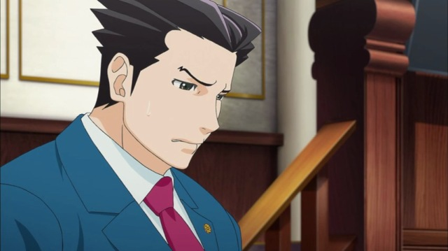 Phoenix Wright Ace Attorney Anime Sad