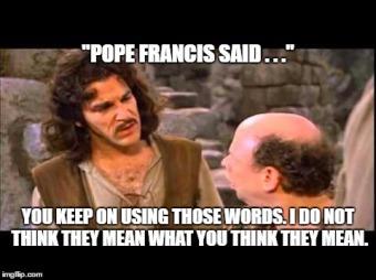 Pope Francis Inigo