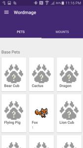 Habitica Pets