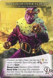 Legendary Baron Zemo