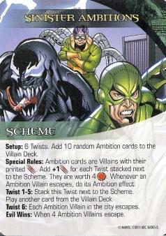 Legendary Scheme - Sinister Ambitions