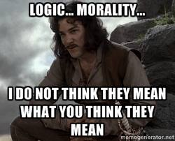 Logic and Morality