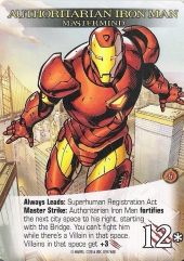 Legendary Authoritarian Iron Man
