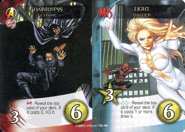 Legendary Divided Cards