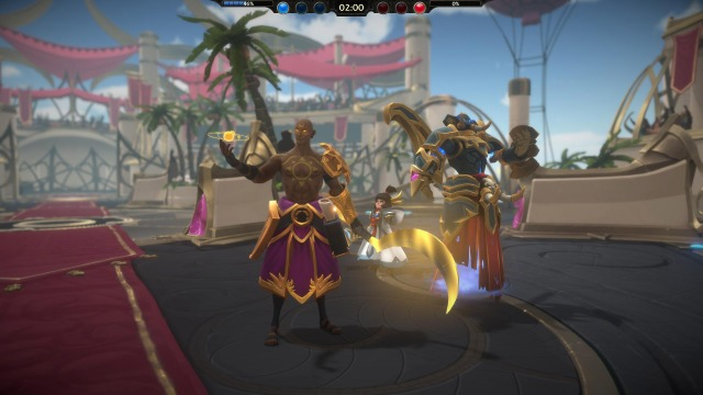 Battlerite Victory Screen
