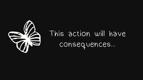 Life is Strange Consequences Butterfly